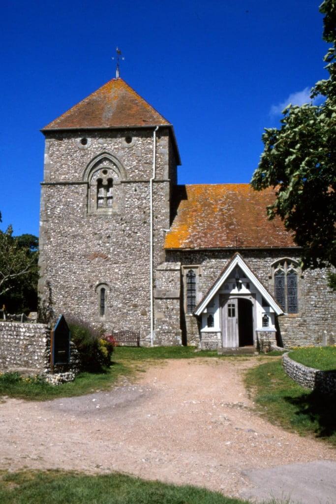 SD BC 981123 Jevington Church, July (Richard Reed)