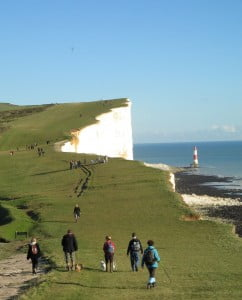 South Downs Way Walkers 2012